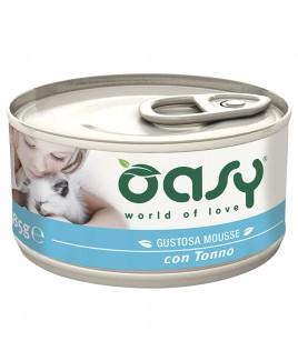 Oasy Wet Cat MOUSSE con TONNO Lattina 85gr
