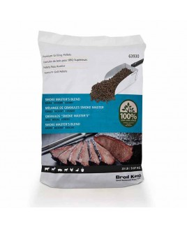 Pellet affumicatura Smoke master's blend 9 Kg Broil King 70563930
