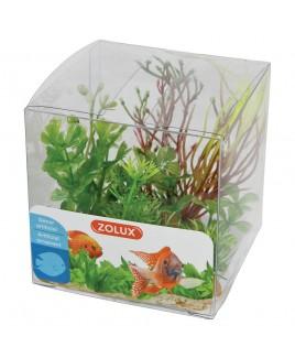 Piante artificiali per acquari Set 4 piante mod 2 Zolux 352135