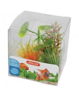 Piante artificiali per acquari Set 4 piante mod 3 Zolux 352136