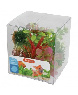 Piante artificiali per acquari Set 6 piante mod 1 Zolux 352130