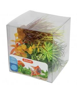 Piante artificiali per acquari Set 6 piante mod 3 Zolux 352132