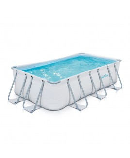 Piscina Elite frame rettangolare 400x200xh100cm Summer Waves