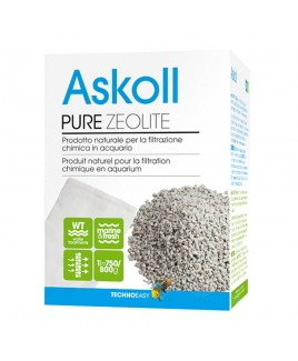 Prodotto naturale per la filtrazione chimica Pure Zeolite Askoll