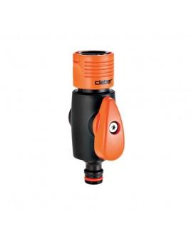 Raccordo con rubinetto Claber 8601