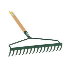 Rastrello doppio attacco 16 denti 40cm con manico in faggio Handy 200616159