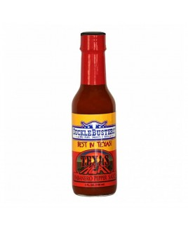 Salsa BBQ piccante Texas Heat Habanero SuckleBusters 148 ml.