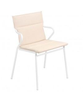 Sedia con braccioli Lafuma Ancone Hedona Argile LFM2965 9271