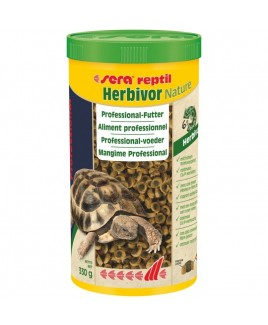 Mangime Sera reptil Professional Herbivor 1l