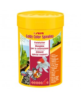 Mangime Sera Goldy Color Spirulina 100ml