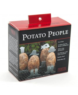 Set cuocipatate Potato People Charcoal Companion
