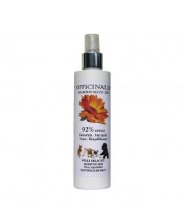 Shampoo a secco per cani e gatti alla Calendula 250ml Officinalis