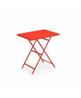 Tavolo pieghevole Arc En Ciel 70x50cm rosso 50 Emu 303345000N