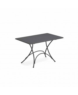 Tavolo pieghevole Pigalle 118x76cm Ferro antico Emu 309032200N