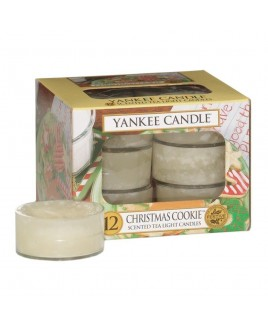 Tea Light Christmas Cookie Yankee Candle