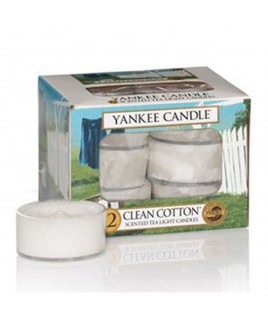 Tea Light Clean Cotton Yankee Candle