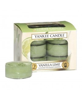 Tea Light Vanilla Lime Yankee Candle