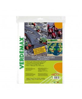 TELO PACCIAMATURA MICROFORATO 1,5X5M VERDEMAX V006790