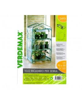 Telo ricambio serra a 3 ripiani Azalea verde Verdemax V002493