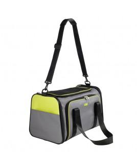 Trasportino borsa per cani SYDNEY verde chiaro e grigio Hunter 92676