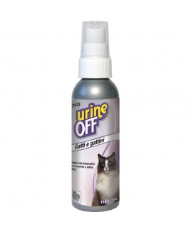 Urine Off SPRAY per Gatti e Gattini 118 ml