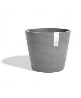 Vaso Amsterdam grigio 40cm Ecopots
