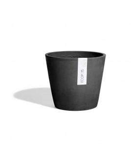 Vaso Amsterdam grigio scuro 20cm Ecopots