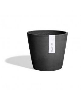 Vaso Amsterdam grigio scuro 30cm Ecopots