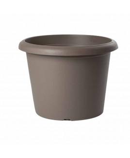 Vaso cilindro Terrae 15 cm Beige Scuro