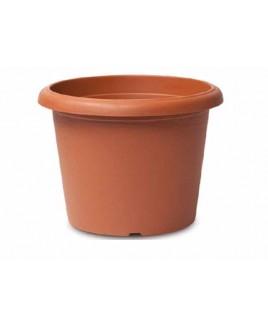 Vaso cilindro Terrae 15 cm Terracotta