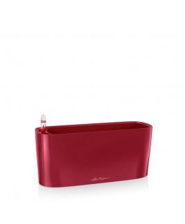Vaso Lechuza Delta Premium 10 Rosso scarlatto lucido 30x11x13cm