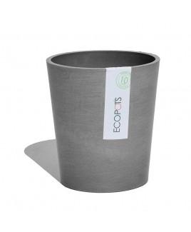 Vaso Morinda per orchidee grigio 16cm Ecopots