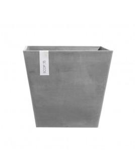 Vaso Rotterdam grigio 30cm Ecopots