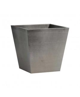 Vaso Rotterdam grigio 40cm Ecopots