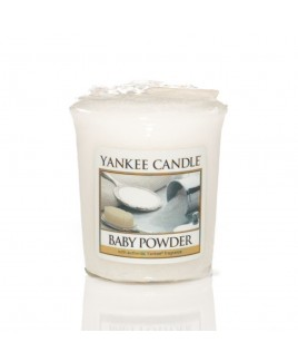 Votive Baby Powder Yankee Candle