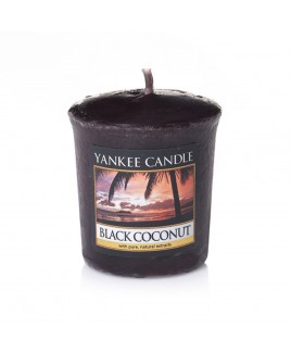 Votive Black Coconut Yankee Candle