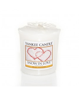 Votive Snow In Love Yankee Candle