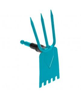Zappa Combisystem 3 denti e lama con dentatura Gardena 3219 20